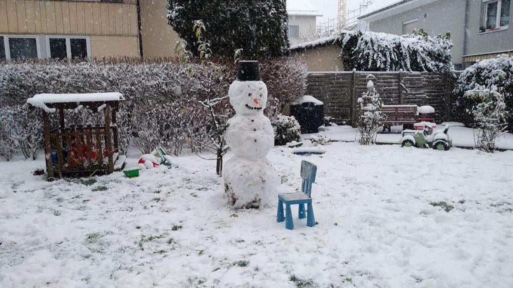 Rosa, die Schneefrau